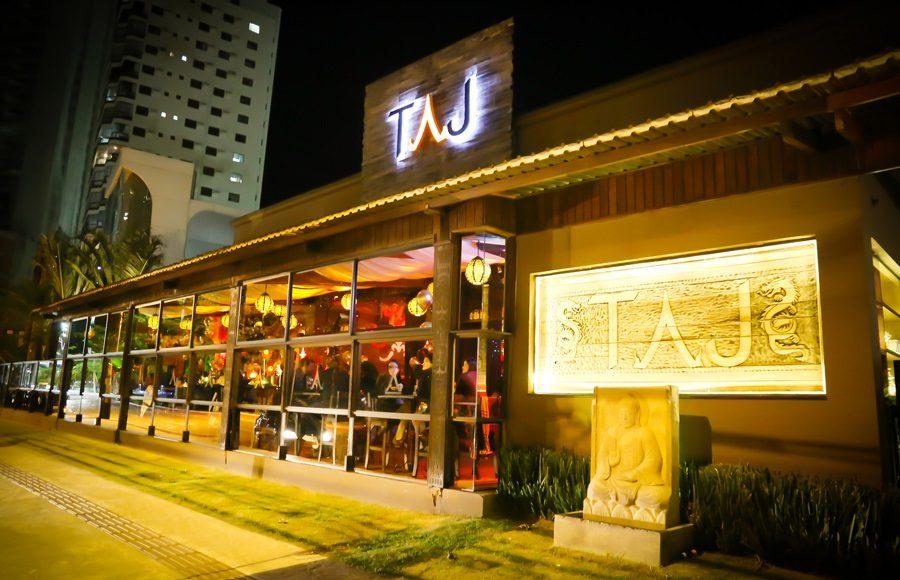 Fachada do Taj Bar