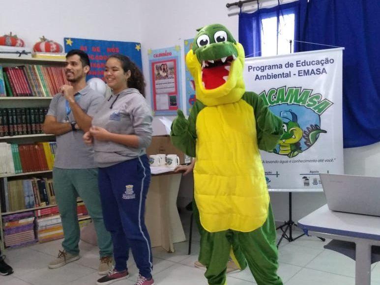 JACAMASA visitando o CEM Taquaras