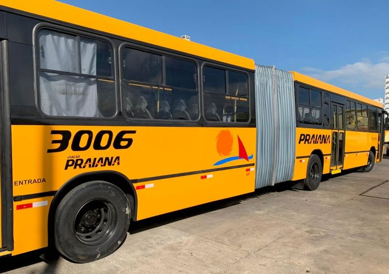 Ônibus articulados da Praiana passam a atender a linha Camboriú-Itajaí