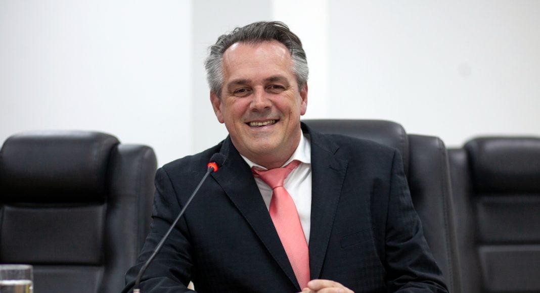 Vereador Claudinei Loos (MDB), autor do projeto