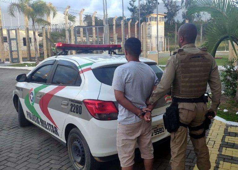 PM de Camboriú recaptura foragido do presídio regional de Criciúma